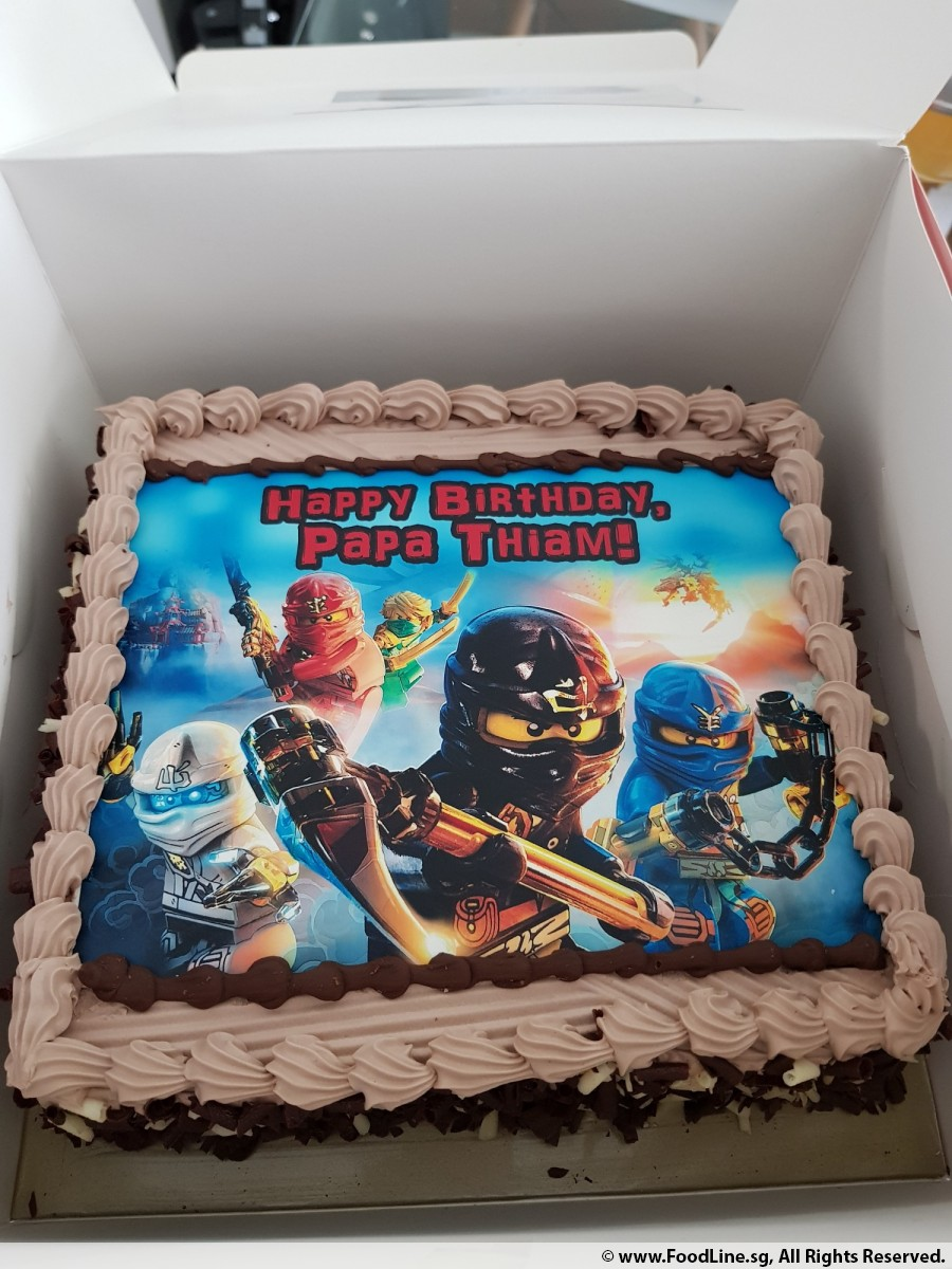 The Cake Shop Review - Ninjago Chocolate Cake by Mdm Joanne Yeo