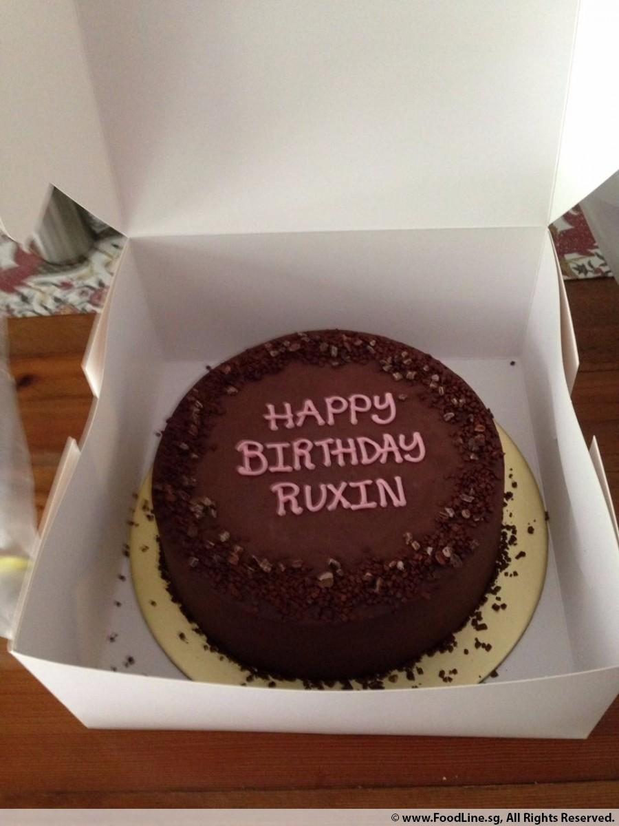 Nicholas Bittersweet Dark Chocolate Cake  Inch By Ms Justina Birthday Event On