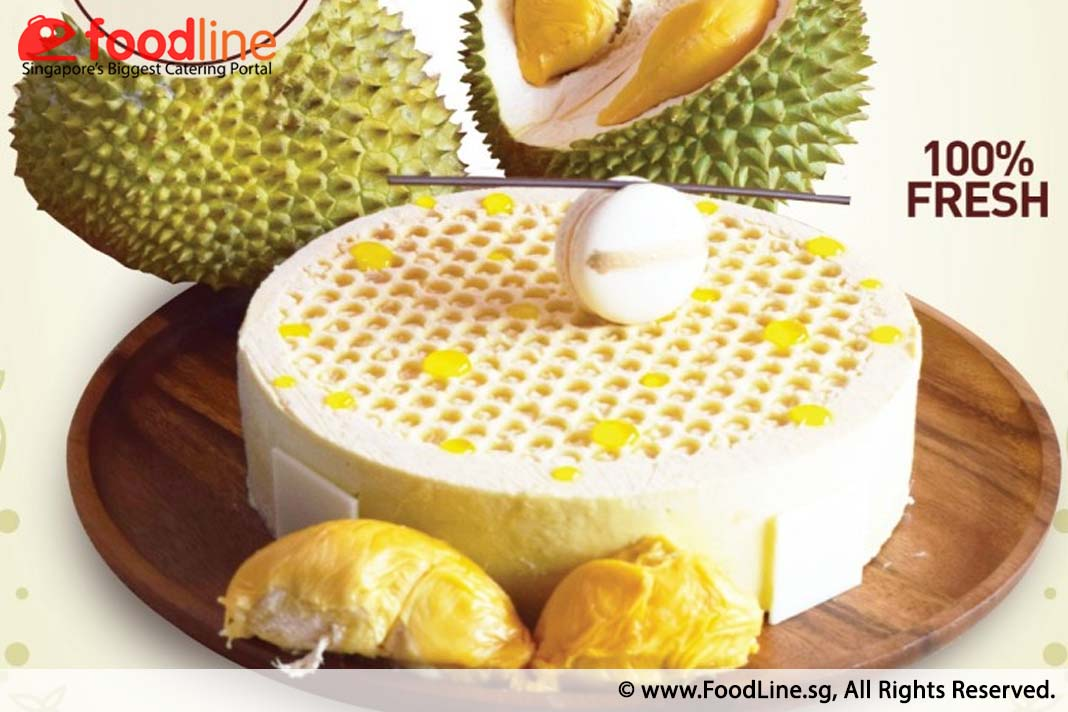 Top 3 Durian Cakes For This Durian Season FoodLine Discovers