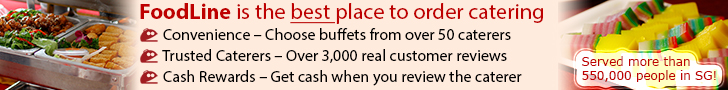 FoodLine is the best place to order catering.  Convenience - Choose buffets from over 50 popular caterers.  Trusted Caterers - Read over 3,000 real customer reviews.  Cash Rewards - Get cash when you review the caterer.