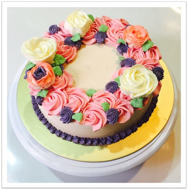 Groovy Bb152 Korean Flowers At 52 00 Per Cake Bing Bing Ice Cream Funny Birthday Cards Online Elaedamsfinfo