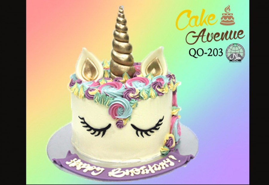 Rainbow Unicorn 11250 Per Cake