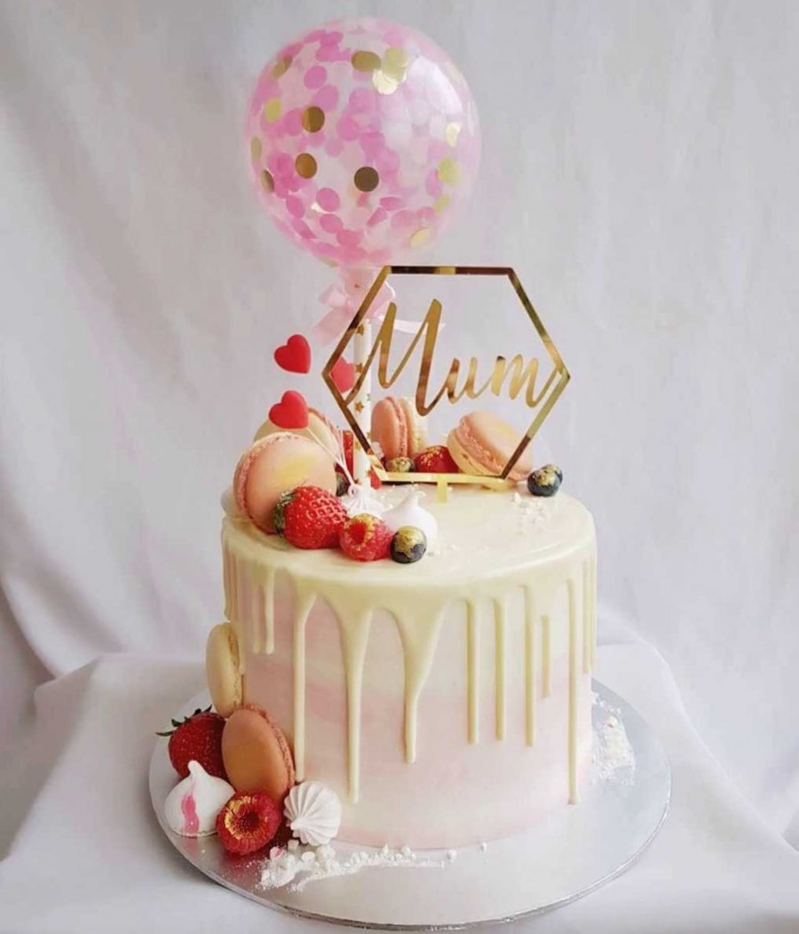 Pleasing Mothers Day Cake At 78 00 Per Cake Corine Cake Personalised Birthday Cards Cominlily Jamesorg