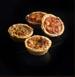 Quiches- Lorraine and Mushroom