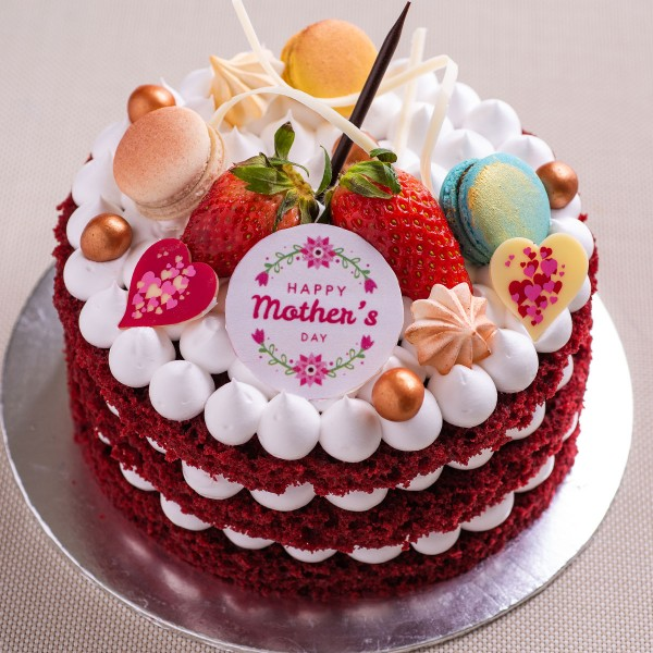We Know Many Mums Would Definitely Prefer To Have A Naked Cake As It Has One Less Layer Of Buttercream Coating The So Why Not Consider This For Your
