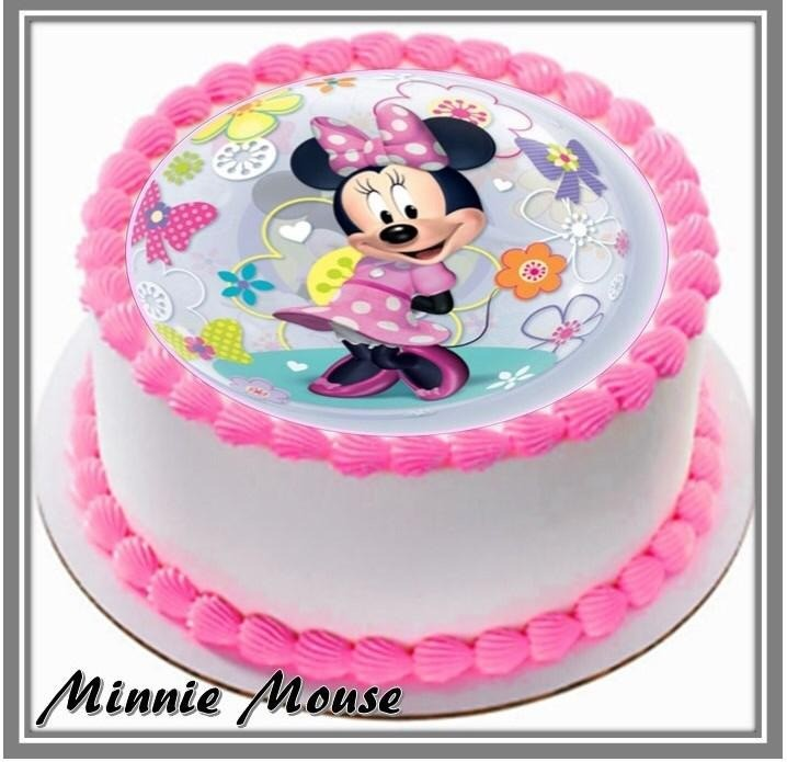 Fine Minnie Mouse Birthday Cake At 33 90 Per Cake Kake House Pte Ltd Funny Birthday Cards Online Overcheapnameinfo