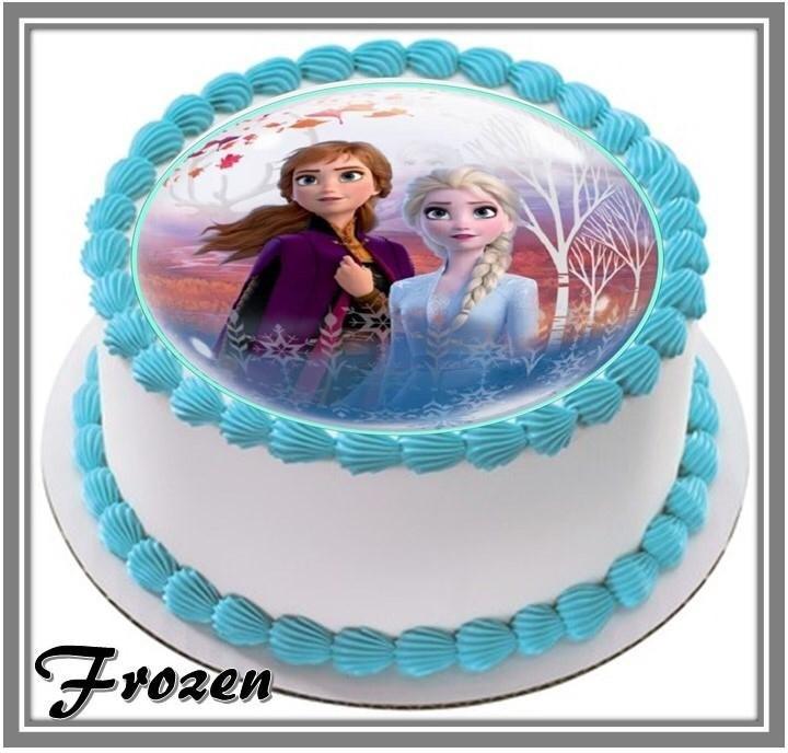 Excellent Frozen Birthday Cake At 33 90 Per Cake Kake House Pte Ltd Funny Birthday Cards Online Inifodamsfinfo