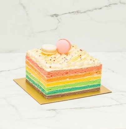 Rainbow Cake 1kg At 5500 Per