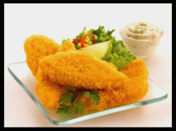 Crispy Breaded Fish Fillet