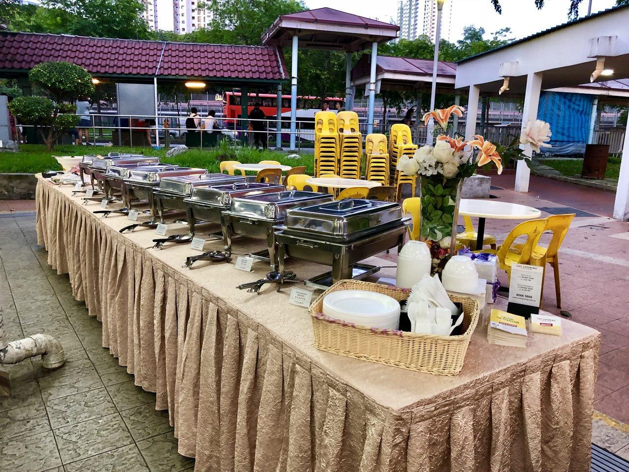 One Catering Best Price Guaranteed At FoodLinesg - Table one catering