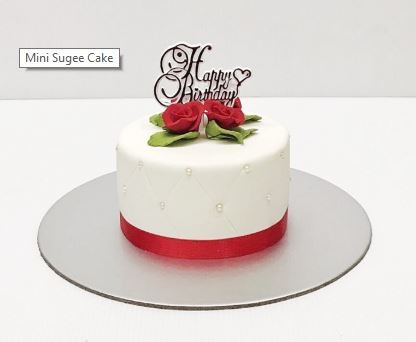Sugee Cake Plain At 50 00 Per Cake Quentin S Kakes