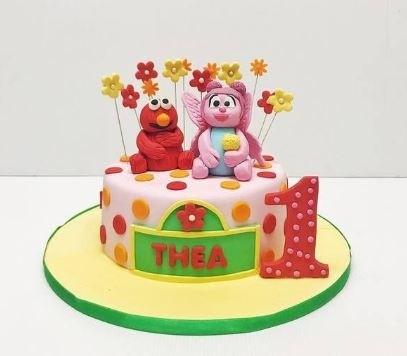 Elmo Abby Kake At 16500 Per Cake