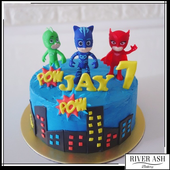 Pj Masks Bakery Cake