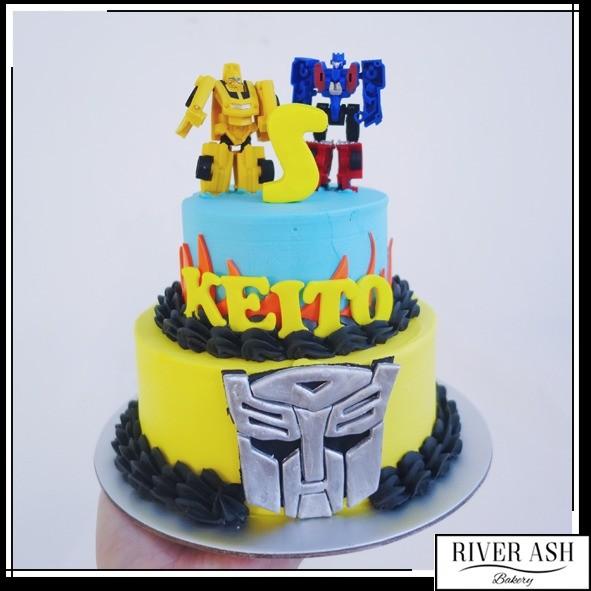 Transformers Cake At 8500 Per Cake River Ash Bakery