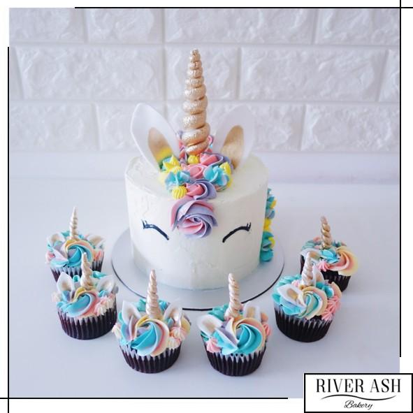 Unicorn Body Cake