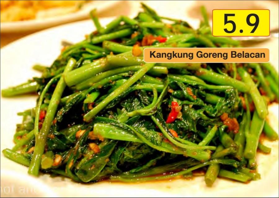 Image result for kangkung goreng belacan