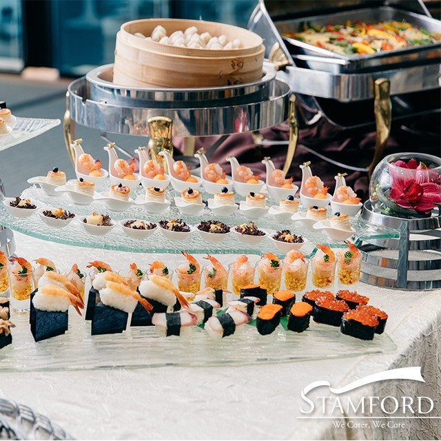 Stamford catering ala carte high tea reception 5 for Canape catering singapore