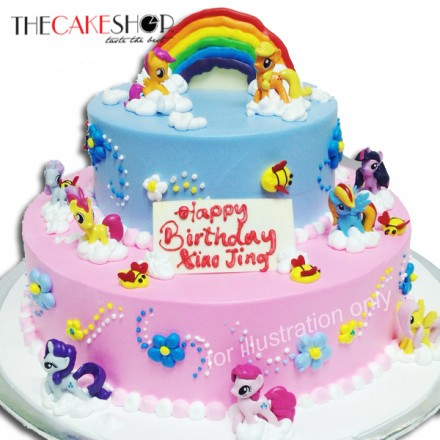 Pony Dream Birthday at 16200 per Cake The Cake Shop