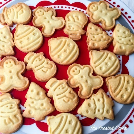 Christmas Cookies At 2 00 Per Pack The Frosted Chick