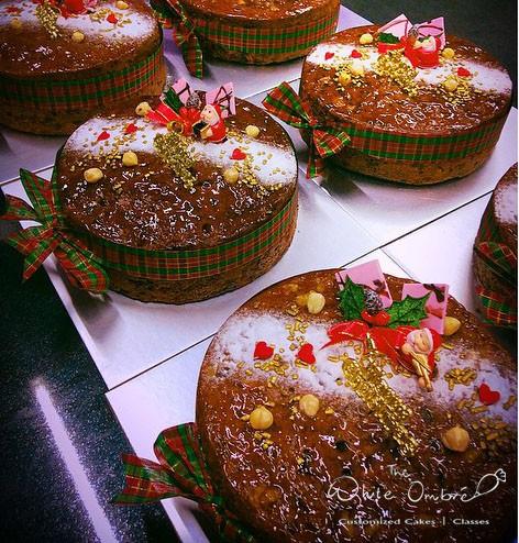 Christmas Rum Fruit Cakes
