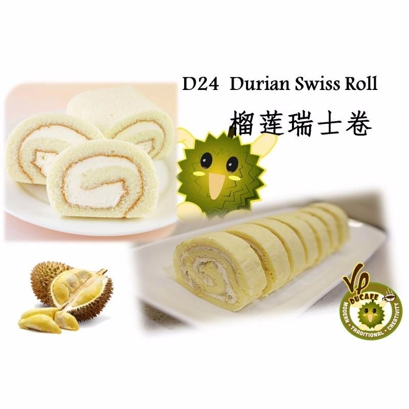 D Durian Swiss Roll  Roll