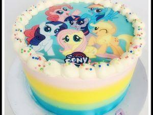 2D Pony Cake 6inch