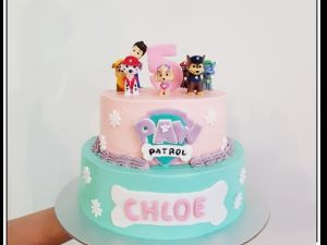 Paw Patrol Cake 39 Of 5