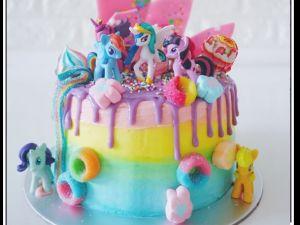 My Little Pony Candyland Cake